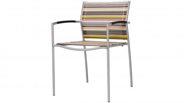 zebra rovex stapelstoel stripe textil
