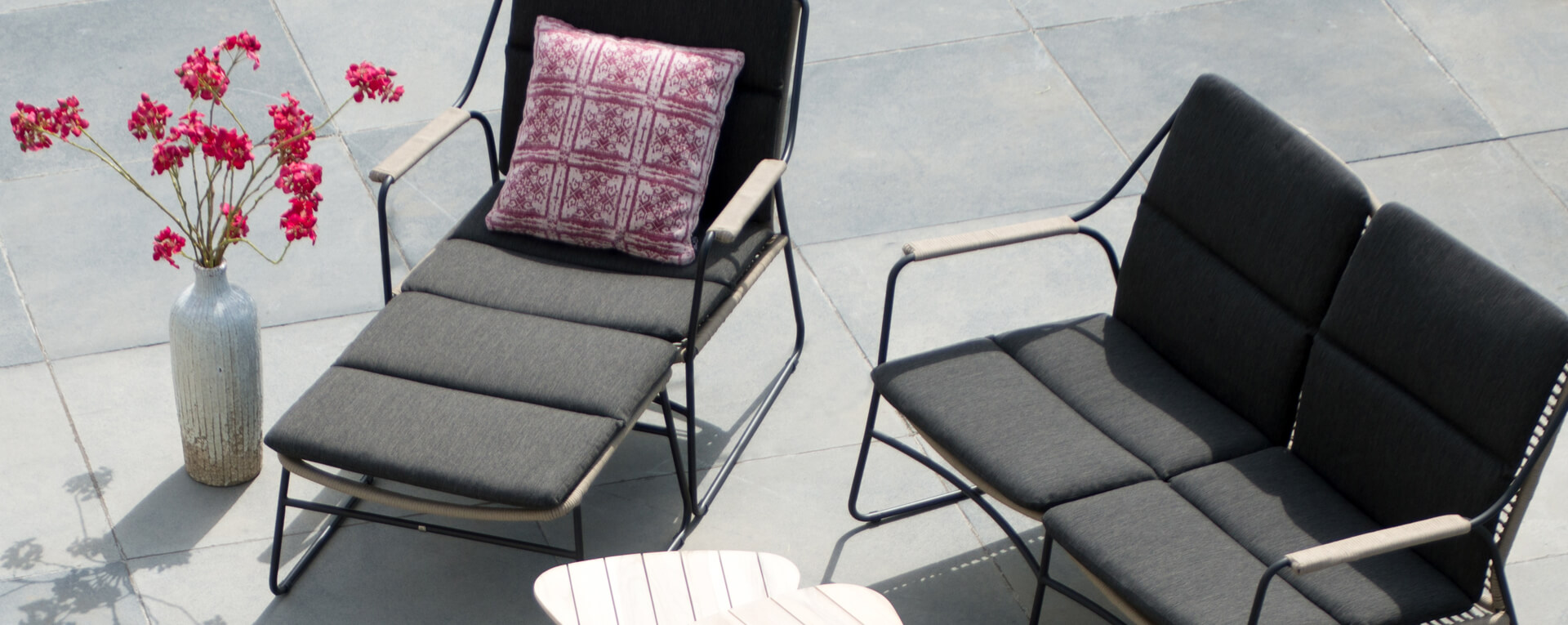 4 Seasons Outdoor Scandic Loungeset — Tuinmeubelkorting.nl