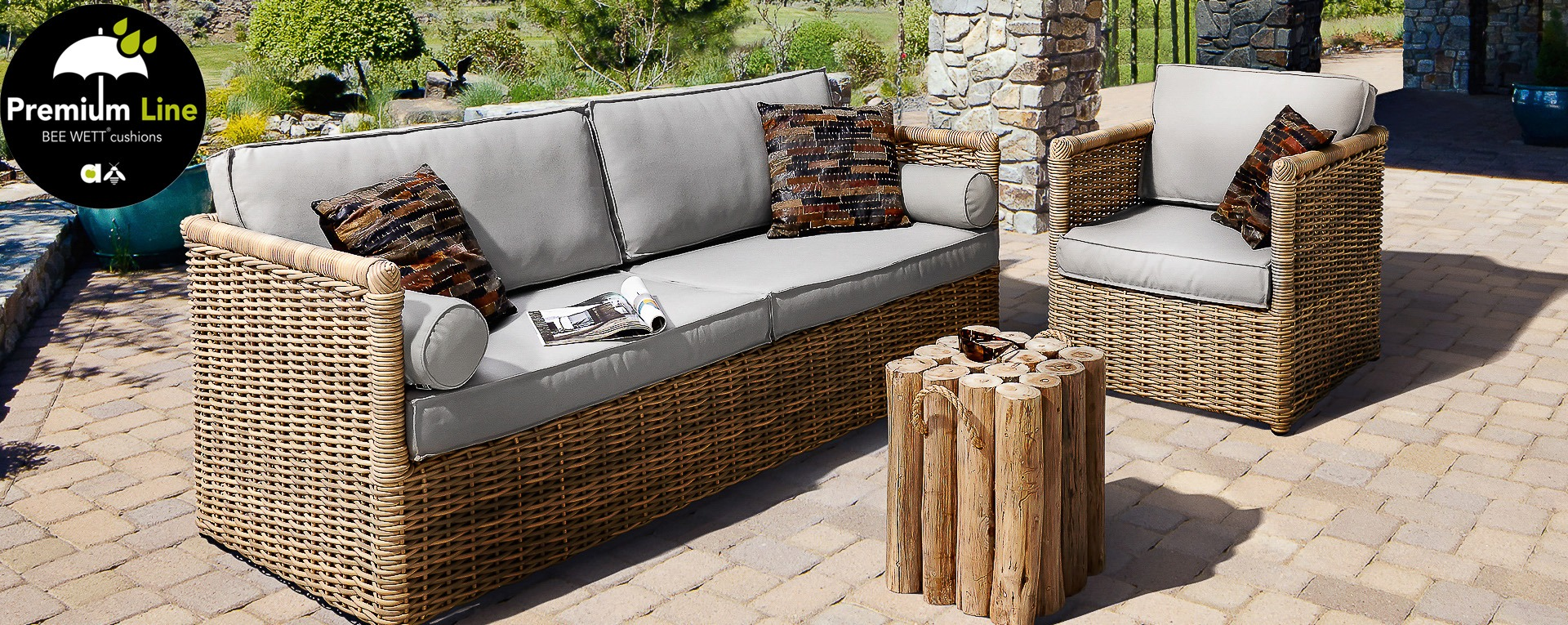 applebee key west loungeset beach premium line best deal tuinmeubelen. Black Bedroom Furniture Sets. Home Design Ideas