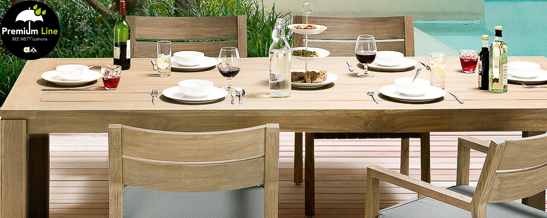 Tuinset Oxford Collection.Applebee Square Tuinset Teak Tuinmeubelkorting Nl Best Deal