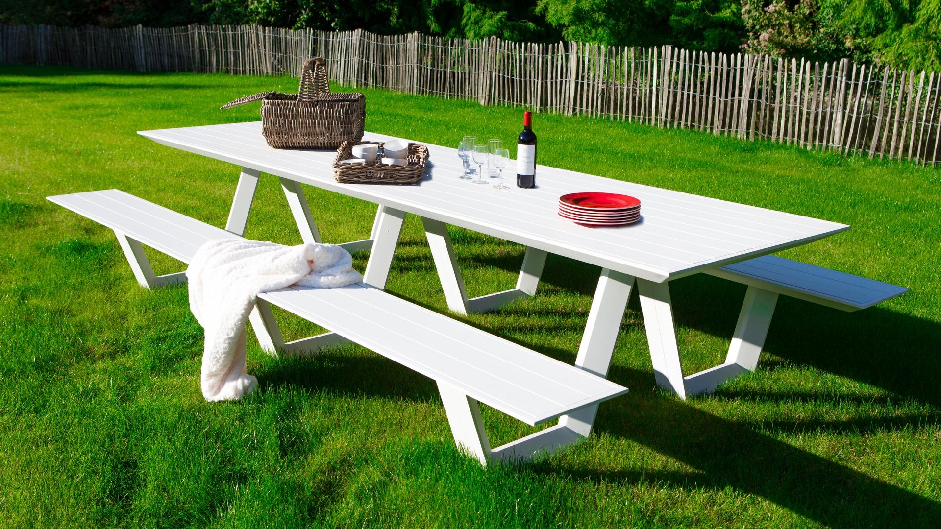 Picknick Tafel Aluminium.Castle Line Ricardo Picknick Tuinset Tuinmeubelkorting Nl Best