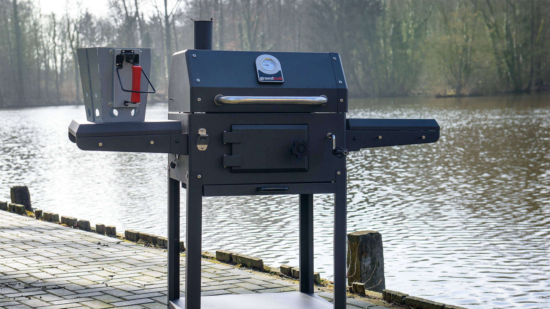 Grandhall Xenon Charcoal Gas Barbecue Tuinmeubelkorting