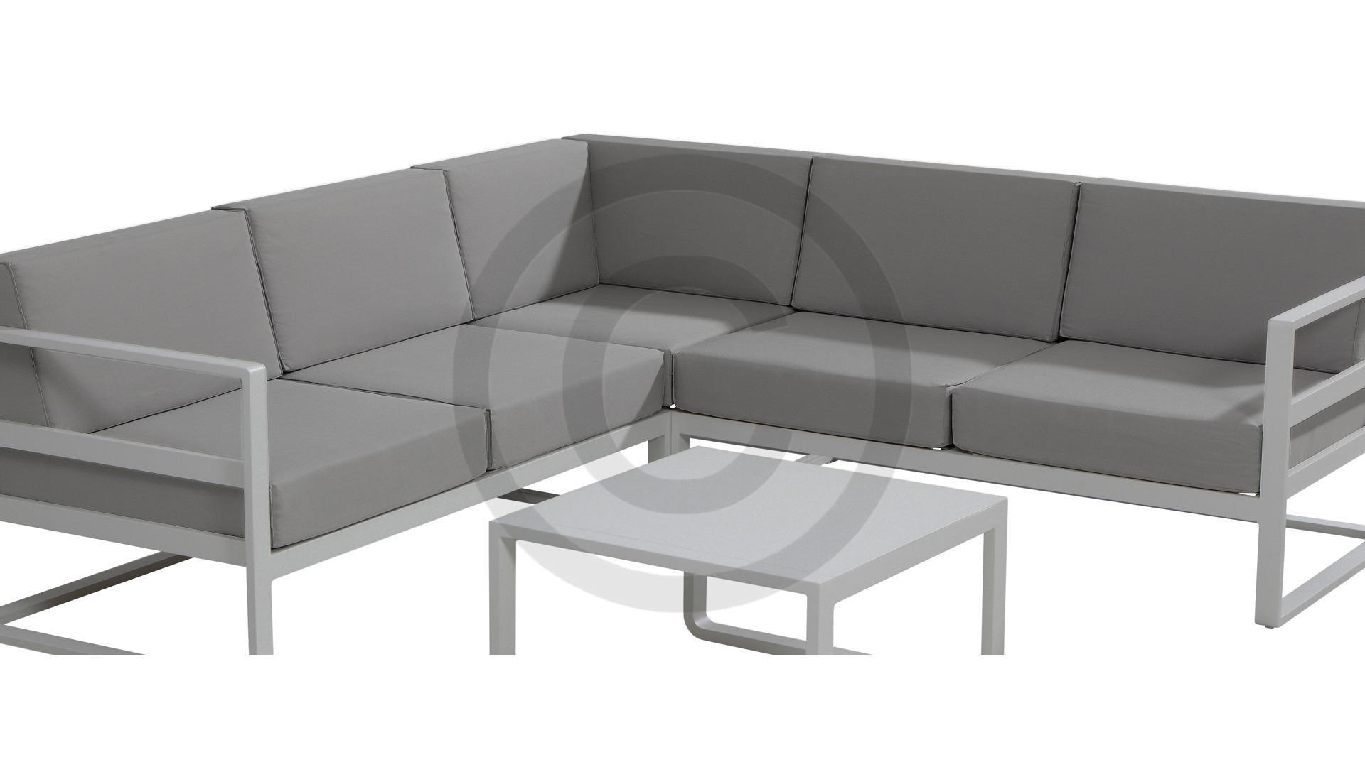 Standaard Kussens Loungeset.Taste By 4 Seasons Aruba Loungeset Slate Grey Tuinmeubelkorting Nl