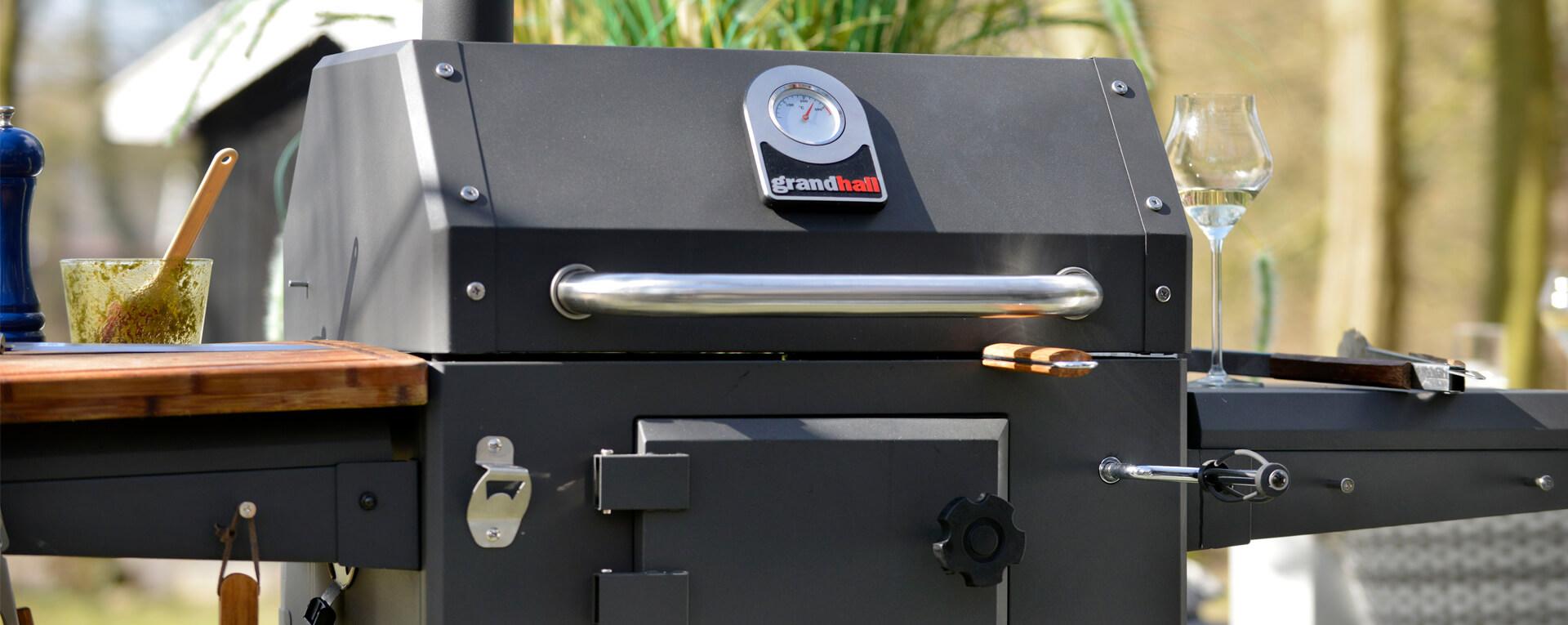 Grandhall Xenon Charcoal Gas Barbecue Tuinmeubelkorting